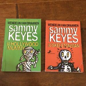 Other - Two Sammy Keyes books. By Wendelin Van Draanen.
